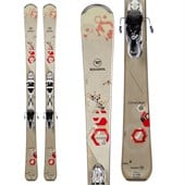 Rossignol Temptation 84 Skis + Xelium 110 Bindings - Used - Women's 2015