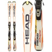 Head Shape Two Skis + SP 100 Demo Bindings - Used 2009