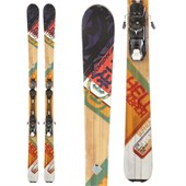 Nordica Hell & Back Burner Skis + Atomic XTE 10 Demo Bindings - Used 2014