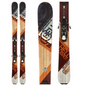 Nordica Hell & Back Skis + Atomic XTE 10 Demo Bindings - Used 2014