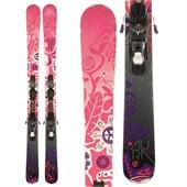 Volkl Aura Skis + Atomic XTE 10 Demo Bindings - Used - Women's 2014