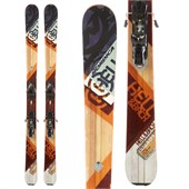 Nordica Hell & Back Skis + Atomic FFG 12 Demo Bindings - Used 2014