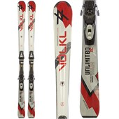 Volkl Unlimited AC Skis + Tyrolia SP 100 Demo Bindings - Used 2011
