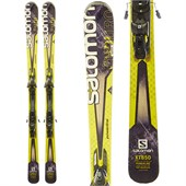 Salomon XT 850 Skis + Z12 Demo Bindings - Used 2014