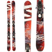Salomon Q-90 Skis + Atomic XTE 10 Demo Bindings - Used 2014