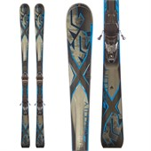 K2 AMP Velocity Skis + M3 10 Q Bindings 2014