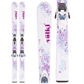 Volkl Chica Skis + 3Motion Jr 7.0 Bindings - Girls' 2016