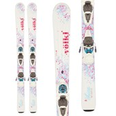 Volkl Chica Skis + 3Motion Jr 4.5 Bindings - Girls' 2016