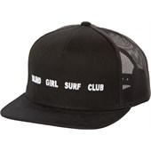 RVCA Blind Girl Surf Club Slogan Trucker Hat