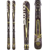 Salomon Enduro RS 800 Skis + Z10 Bindings - Used 2014