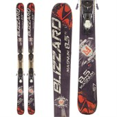 Blizzard Magnum 8.5 Ti Skis + Atomic FFG 12 Demo Bindings - Used 2013