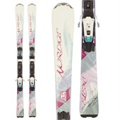 Nordica Elexa Skis + ADV P.R. EVO Bindings - Used - Women's 2014