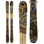 K2 Kung Fujas Skis + Look NX12 Demo Bindings - Used 2012