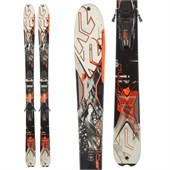 K2 AMP Rictor 90X Ti Skis + MXC12 Demo Bindings - Used 2014