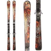 Nordica Hot Rod Flare Skis + N Sport Demo Bindings - Used 2013