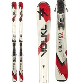 Volkl AC20 Skis + Marker 11 Demo Bindings - Used 2011