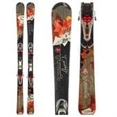 Rossignol Attraxion 3 Skis + Saphir 110 Demo Bindings - Used - Women's 2011
