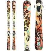 Roxy Sugah Skis + Saphir 110 Demo Bindings - Used - Women's 2009