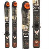 Rossignol S65 Jr Skis + Comp Kid 2.5 Demo Bindings - Used - Little Boys' 2011