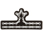 evo Chain Crown Reflective Sticker