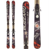 Blizzard Magnum 8.5 Ti Skis + Atomic XTE 10 Demo Bindings - Used 2013