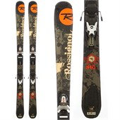 Rossignol S65 Jr Skis + Comp J 4.5 Demo Bindings - Used - Little Boys' 2011