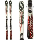 Nordica Transfire 75 Skis + Fastrak 10.0 Bindings - Used 2013