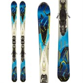 K2 A.M.P. Aftershock Skis + Marker MX 12.0 Demo Bindings - Used 2013