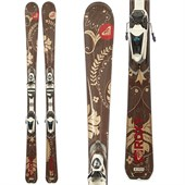 Roxy Joyrider INT Skis + Saphir 9 Demo Bindings - Used - Women's 2010