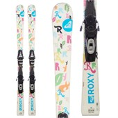 Roxy Pixie Stix Skis + Tyrolia SP100 Demo Bindings - Used - Girls' 2011