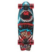 "Santa Cruz Retro Shark Land Shark 27.7"" Cruiser Complete"