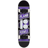 Plan B Pudwill Wrap 7.87 Skateboard Complete