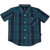 Volcom Everett Plaid Short-Sleeve Button-Down Shirt (Ages 8-14) - Boys'