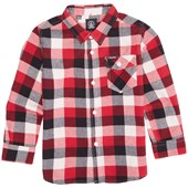 Volcom Bert Flannel Long-Sleeve Shirt (Ages 2-7) - Little Boys'