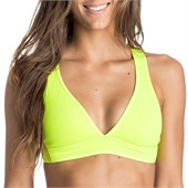 Roxy Pop Surf Optic Nature Binded Tiki Bikini Top - Women's