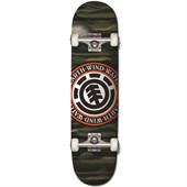 Element Landline Seal Logo 8 Skateboard Complete