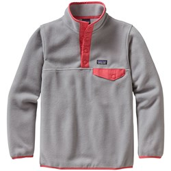Patagonia Lightweight Synchilla Snap-T Pullover Fleece - Girls'