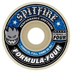 Spitfire Formula Four Conical Full 99a Skateboard Wheels