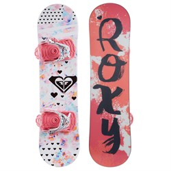 Roxy Poppy Snowboard Package - Little Girls'