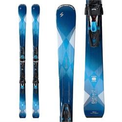 Blizzard Quattro 8.0 Ti Skis + TCX12 Bindings - Women's