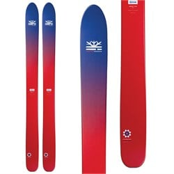 DPS Lotus F124 Skis 2020