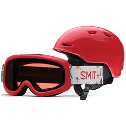 Smith Zoom Jr. Helmet + Gambler Goggle Combo - Big Kids'