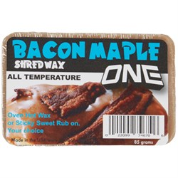One Ball Jay Maple Bacon Bar Snowboard Wax - All Temp