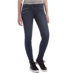 Black Orchid Billie Zipper Skinny Jeans - Women's