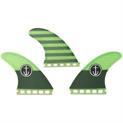 Captain Fin CF Medium Single Tab Tri Fin Set
