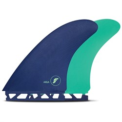 Futures Akila Fiberglass Twin Fin Set