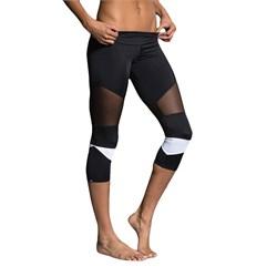 Onzie Cut Out Capri Leggings - Women's