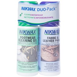 Nikwax Fabric and Leather DuoPack 4.2 fl. oz.