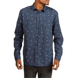 Globe Rain Long-Sleeve Button Down Shirt