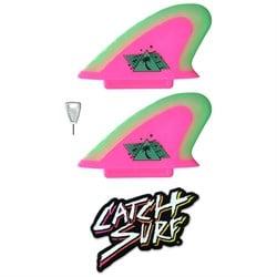 Catch Surf Hi-Performance Safety-Edge Twin Fin Set